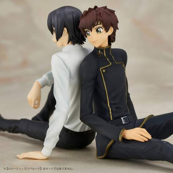 Suzaku Kururugi (Code Geass Lelouch of the Rebellion) PVC-Statue 10cm Union Creative