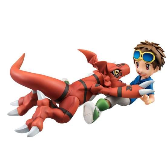 Takato Matsuki & Guilmon (Digimon Tamers) G.E.M. PVC-Statue 14cm Megahouse
