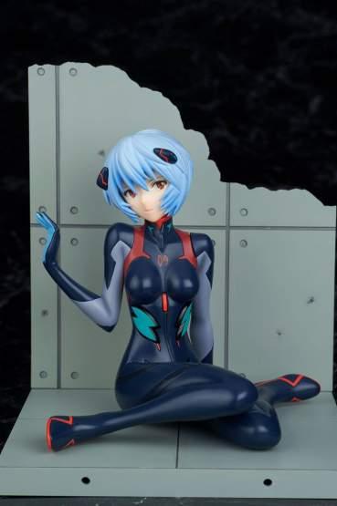 Tentative Name Rei Ayanami Plugsuit Version (Evangelion 4.0 Final) PVC-Statue 1/7 10cm Bellfine