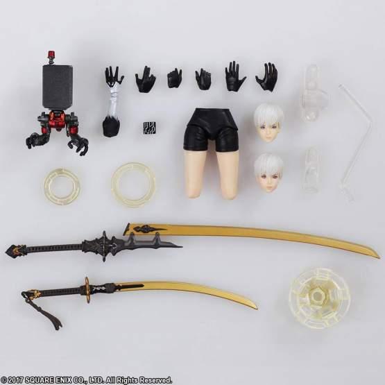 YoRHa No. 9 Type S / 9S (NieR Automata) Bring Arts Actionfigur 15cm Square Enix
