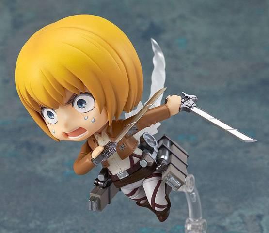Armin Arlert (Attack on Titan) Nendoroid 435 Actionfigur 10cm Good Smile Company -NEUAUFLAGE-