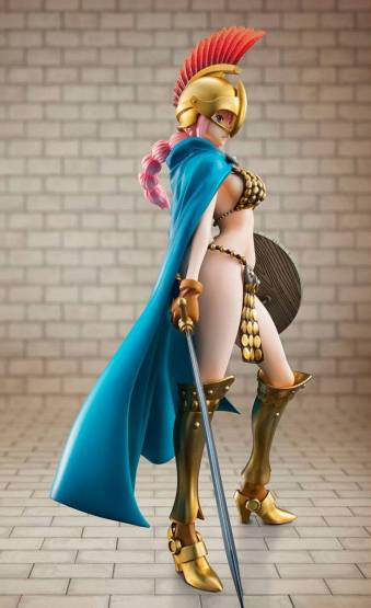 Gladiator Rebecca (One Piece) Excellent Model P.O.P. PVC-Statue 1/8 22cm Megahouse