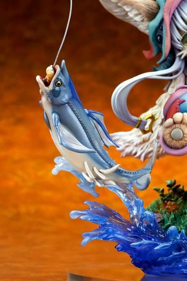 Nanachi Gankimasu Fishing (Made in Abyss) PVC-Statue 1/8 23cm Ques Q