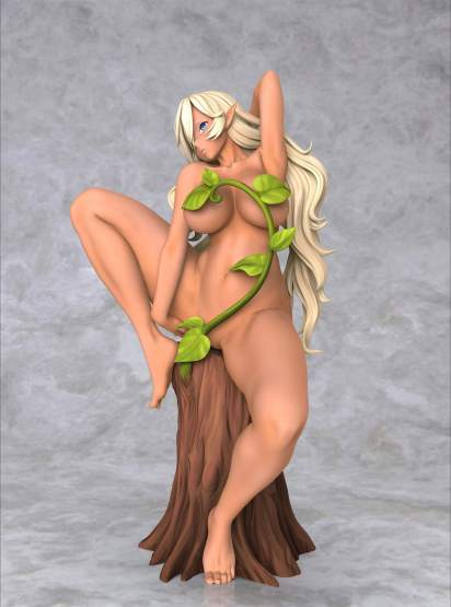 Dark Elf by Chie Masami (Original Character) PMMA (PVC-L)-Statue 16cm Insight