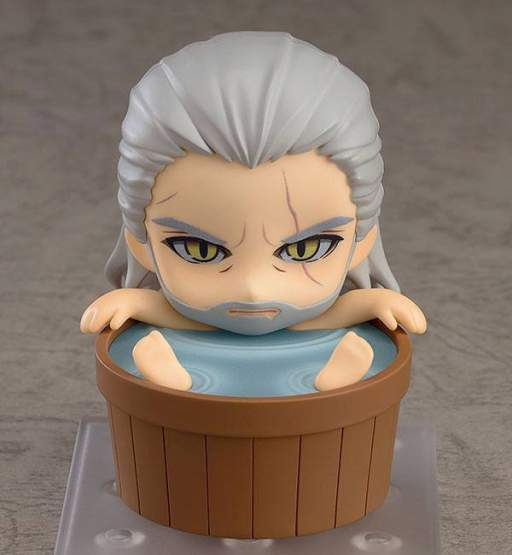 Geralt Exclusive Version (The Witcher 3 Wild Hunt) Nendoroid 907 Actionfigur 10cm Good Smile Company