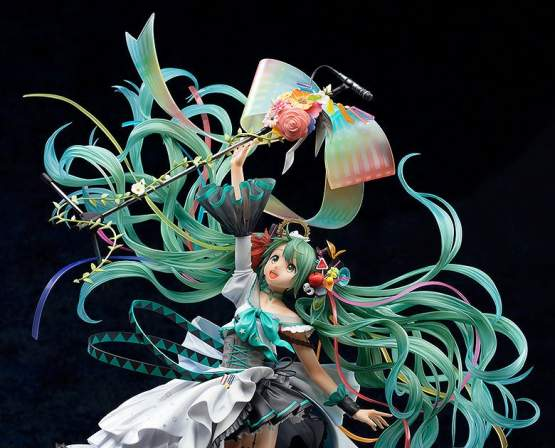 Hatsune Miku Memorial Dress Version (Character Vocal Series 01) PVC-Statue 1/7 43cm Good Smile Company