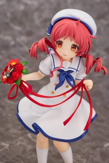 Megu Summer Uniform (Is the Order a Rabbit) PVC-Statue 1/7 21cm PLUM
