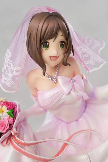 Miku Maekawa Dreaming Bride Version (The Idolmaster Cinderella Girls) PVC-Statue 1/7 24cm Knead