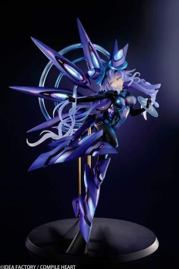 Next Purple Processor Unit Full Version (Megadimension Neptunia VII) PVC-Statue 1/7 38cm Vertex -NEUAUFLAGE-