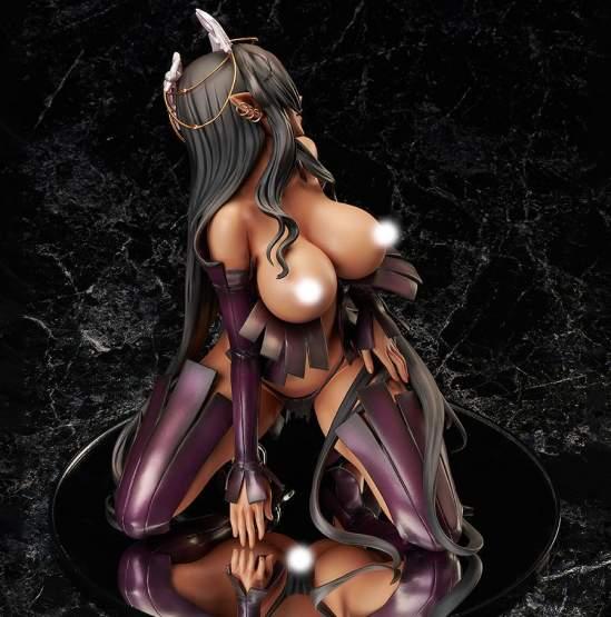 Olga Discordia (Kuroinu: Kedakaki Seijo Wa Hakudaku Ni Somaru) PVC-Statue 1/4 25cm BINDing