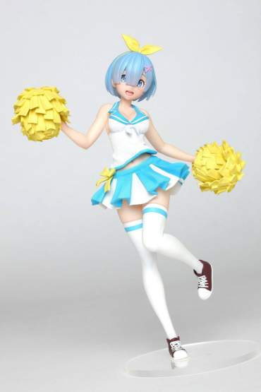 Rem Cheerleader Version (Re:ZERO Starting Life in Another World) PVC-Statue 23cm Taito Prize