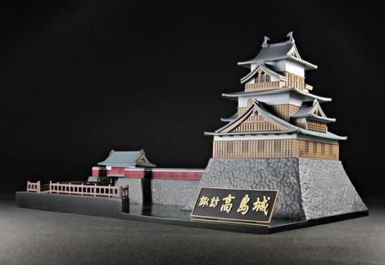 Rin Shima & Takashima Castle Special Edition Set (Laid-Back Camp) PVC-Statue/Modelkit 7/15cm PLUM