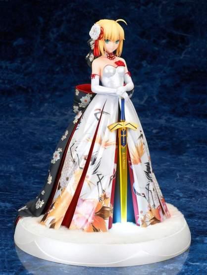 Saber Kimono Dress Version (Fate/Stay Night) PVC-Statue 1/7 25cm Alter