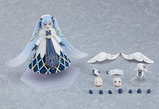 Snow Miku Glowing Snow Version (Character Vocal Series 01 Hatsune Miku) Figma EX-060 Actionfigur 14cm Max Factory
