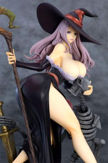 Sorceress Darkness Crow Version (Dragon's Crown) PVC-Statue 1/7 22cm Orchid Seed