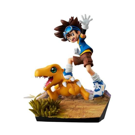 Taichi Yagami & Agumon 20th Anniversary (Digimon Adventure) G.E.M. PVC-Statue 12cm Megahouse