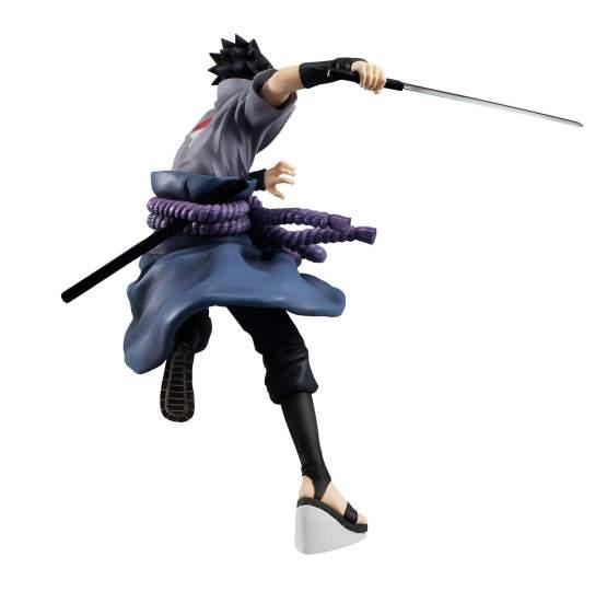 Uchiha Sasuke Shinobi World War Version (Naruto Shippuden) G.E.M. PVC-Statue 23cm Megahouse