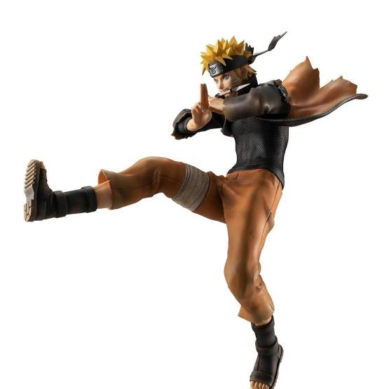 Uzumaki Naruto Shinobi World War Version (Naruto Shippuden) G.E.M. PVC-Statue 26cm Megahouse