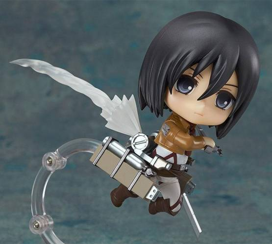 Mikasa Ackerman (Attack on Titan) Nendoroid 365 Actionfigur 10cm Good Smile Company -NEUAUFLAGE-