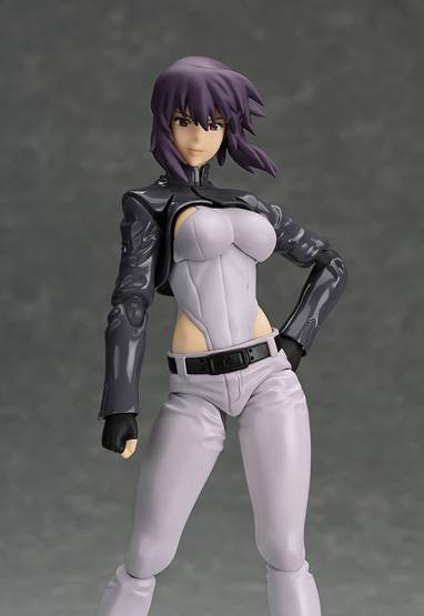 Motoko Kusanagi S.A.C. Version (Ghost in the Shell Stand Alone Complex) Figma 237 Actionfigur 15cm MaxFactory -NEUAUFLAGE-