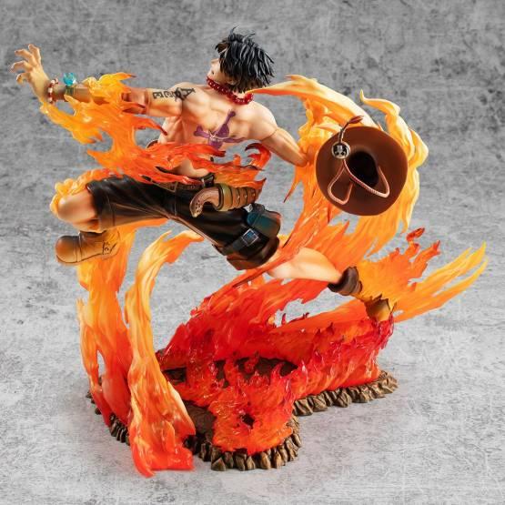 Portgas D. Ace 15th Anniversary Limited Version (One Piece) NEO-Maximum P.O.P. PVC-Statue 23cm Megahouse