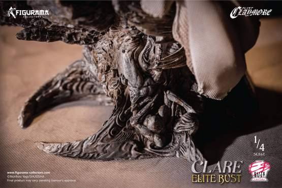Claire (Claymore) Polystone-Büste 23cm Figurama Collectors