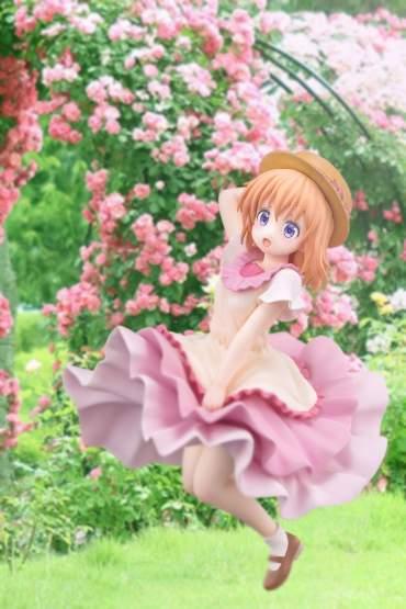Cocoa Summer Dress Version (Is the Order a Rabbit?) PVC-Statue 1/7 22cm Hakoiri Musume