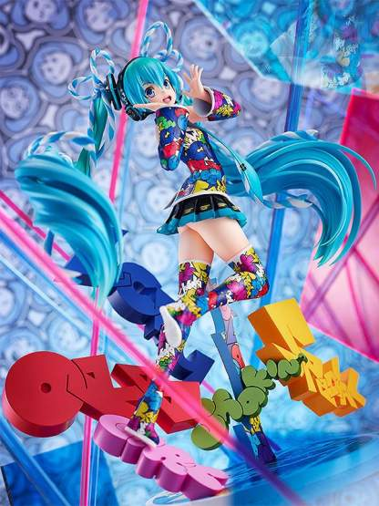 Hatsune Miku: MIKU EXPO 5th Anniversary / Lucky Orb: UTA X KASOKU Version (Character Vocal Series 01) PVC-Statue 1/8 24cm Good Smile Company