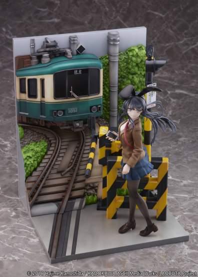 Mai Sakurajima Enoden Version (Rascal Does Not Dream of Bunny Girl Senpai) PVC-Statue 29cm eStream