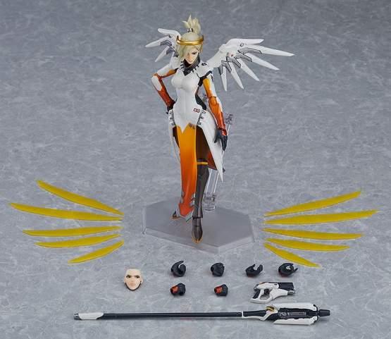 Mercy (Overwatch) Figma 472 Actionfigur 16cm Good Smile Company