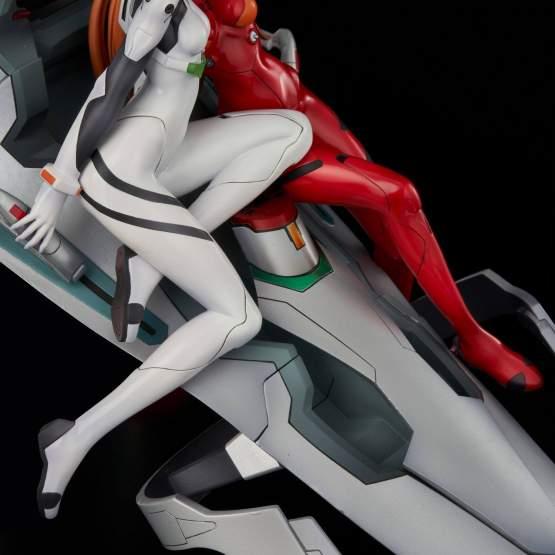 Rei & Asuka Twinmore Object (Neon Genesis Evangelion) PVC-Statue 23cm Union Creative
