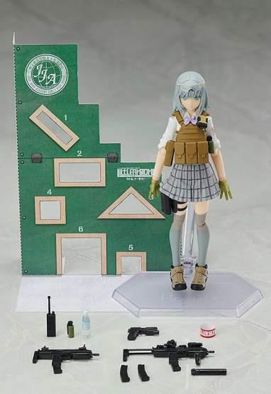 Rikka Shiina Summer Uniform Version (Little Armory) Figma SP-116 Actionfigur 13cm TOMYTEC