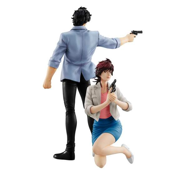 Saeba Ryo & Makimura Kaori (City Hunter Private Eyes) G.E.M. PVC-Statue 17-25cm Megahouse