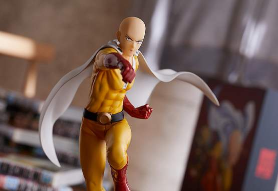 Saitama Hero Costume Version (One Punch Man) POP UP PARADE PVC-Statue 18cm Good Smile Company