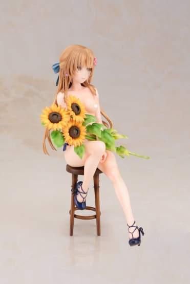 Sunflower Girl Momose Kurumi (Original Character) PVC-Statue 1/6 18cm Daiki Kougyou