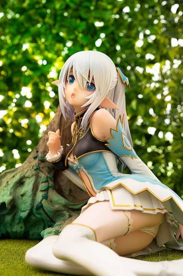 Altina, Elf Princess of the Silver Forest (Blade Arcus from Shining EX) PVC-Statue 1/7 12cm Aqua Marine