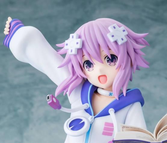 Neptune Pyoiiiin Version (Super Neptunia) PVC-Statue 1/6 22cm Kadokawa