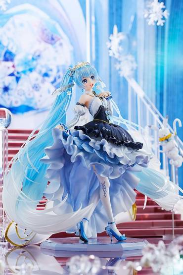 Snow Miku Snow Princess Version (Character Vocal Series 01) PVC-Statue 1/7 23cm Good Smile Company
