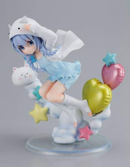 Chino Tippy Hoodie Version (Is the Order a Rabbit BLOOM) PVC-Statue 1/6 21cm Sol International