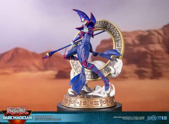 Dark Magician Blue Version (Yu-Gi-Oh!) PVC-Statue 29cm First4Figures