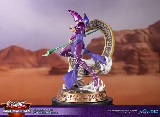 Dark Magician Purple Version (Yu-Gi-Oh!) PVC-Statue 29cm First4Figures