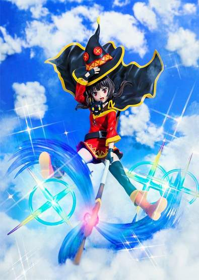 Megumin Anime Opening Edition (KonoSuba) CAworks PVC-Statue 1/7 30cm Chara-Ani