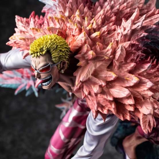 SA-Maximum Heavenly Demon Donquixote Doflamingo (One Piece) P.O.P. PVC-Statue 1/8 24cm Megahouse