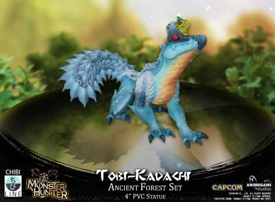 Tobi-Kadachi (Monster Hunter) PVC-Statue 10cm Animegami Studios