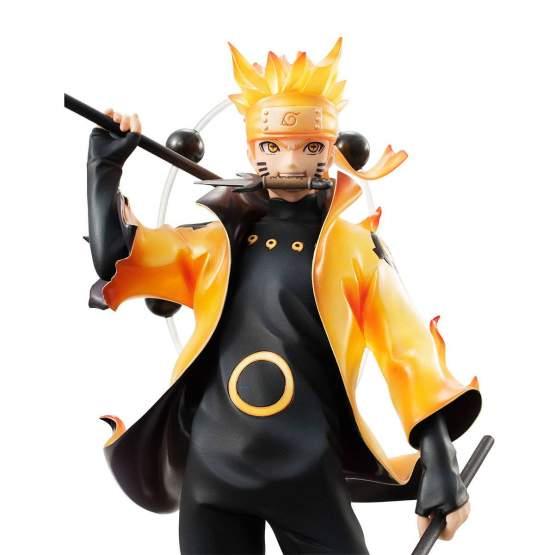 Uzumaki Naruto Rikudo Sennin Mode (Naruto Shippuden) G.E.M. PVC-Statue 22cm Megahouse
