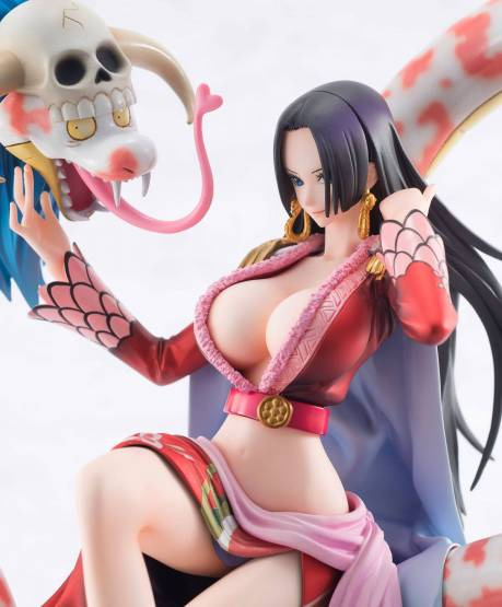Boa Hancock mit Salome (One Piece) Excellent Model P.O.P. Neo Maximus PVC-Statue 23cm Megahouse