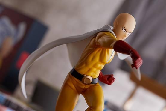 Saitama Hero Costume Version (One Punch Man) POP UP PARADE PVC-Statue 18cm Good Smile Company
