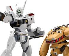 AV-98 Ingram & Bulldog (Mobile Police Patlabor) Moderoid Plastic Model Kit 1/60 10-13cm Good Smile Company