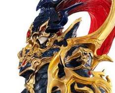 Black Luster Soldier / Chaos Soldier (Yu-Gi-Oh! Duel Monsters) Art Works Monsters PVC-Statue 30cm Megahouse