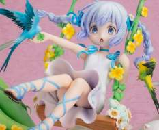 Chino Flower Swing (Is the Order a Rabbit?) PVC-Statue 1/7 29cm FuRyu